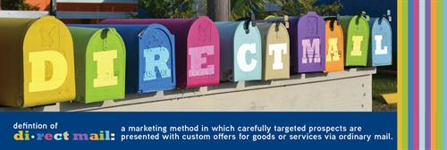 Target your prospects, personalize your message, tailor your offers!