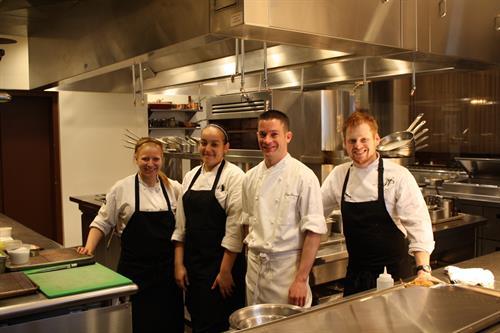 The Kitchen staff at the Philadelphia Union League