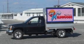 SJ MOBILE BILLBOARD CAN BE USED AS A TEMPORARY SIGN IN FRONT OF YOUR BUSINESS