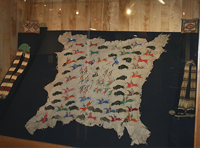 Codsiogo's Painted Elk Hide