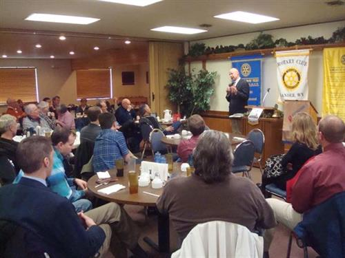 Lander Rotary enjoys great programss
