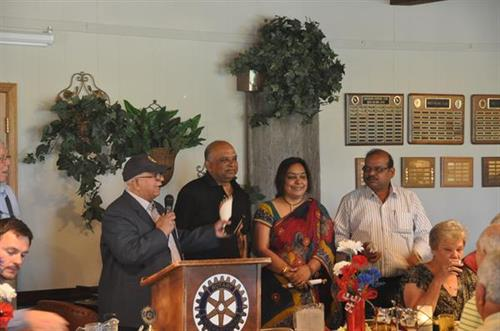 Lander Rotary hosts International exchange Rotarians from India