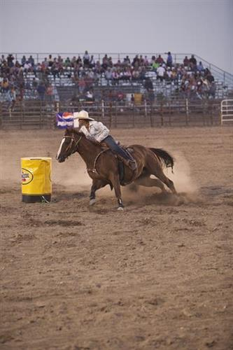 Lander Pioneer Days Rodeo Barrel Racing