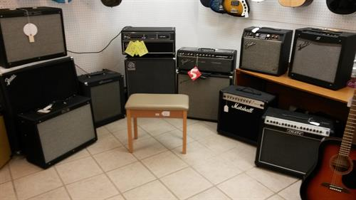 Come try and find the amp just right for your needs!