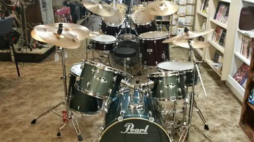 We carry Pearl drum sets and accessories!!