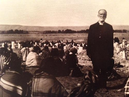 John Roberts, Episcopal missionary to the Wind River.