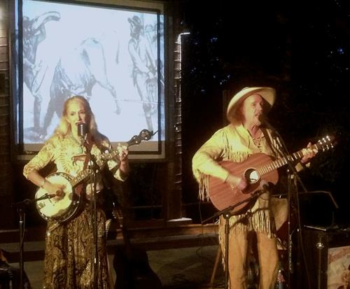 Performing at Devils Tower
