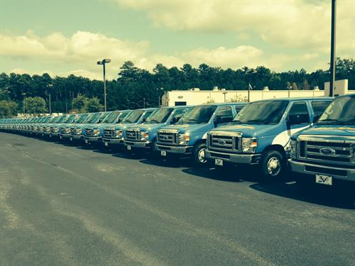 Full fleet of new vehicles ready to service your needs