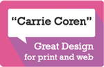 Carrie Coren Web/Graphic Design