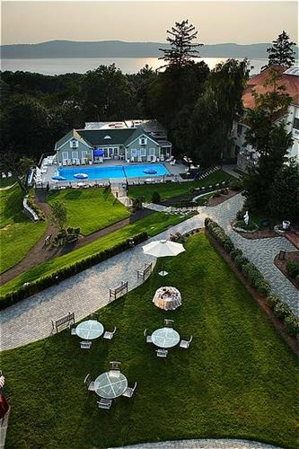 Tarrytown House Estate Aerial View