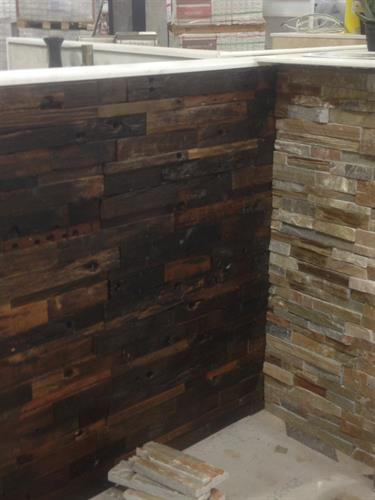 New Hot Product!! - Antique Wood Mosaic