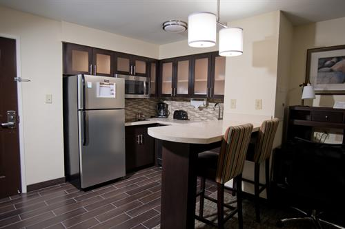 Kitchen all suites