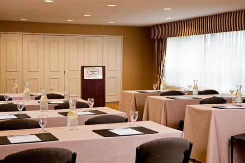 Hampton Inn Boston-Natick Classroom Style Conference Room