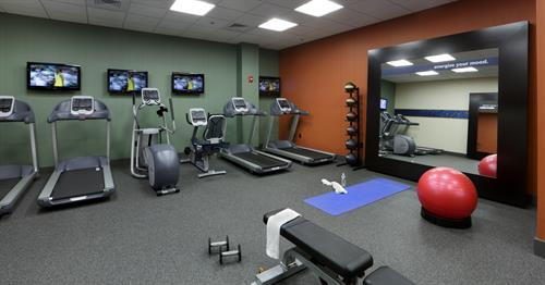 Hampton Inn Boston-Natick Fitness Center