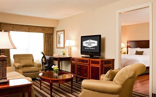 Hampton Inn Boston-Natick Suite