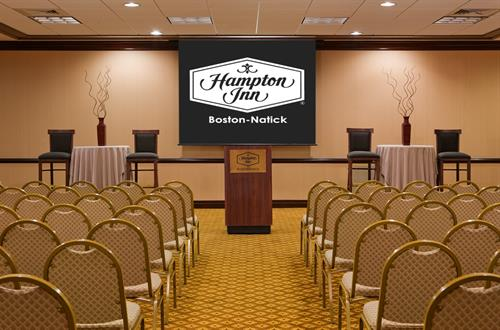 Hampton Inn Boston-Natick Theater Style Conference Room