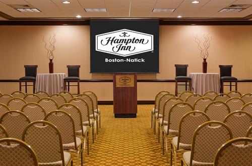 Hampton Inn Boston-Natick Theater Style Conference Room