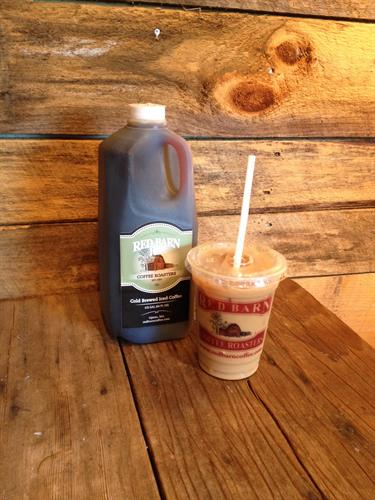 Cold Brewed Iced Coffee - for you to enjoy at home, the office or anywhere!