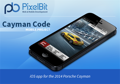 The Cayman Code app allows the user to experience race events, view driver and show information and record their drives to share on a global leaderboard.