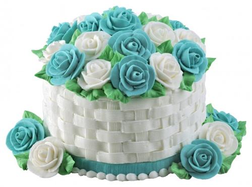 Buttercream Basket Weave Cake Class