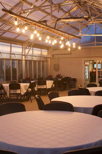 greenhouse space for private events