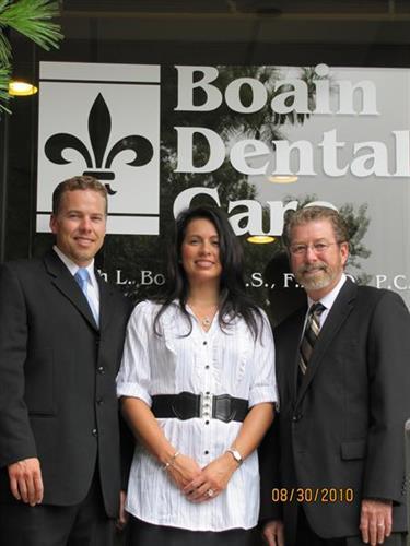 Drs John, Jennifer, and Joseph Boain