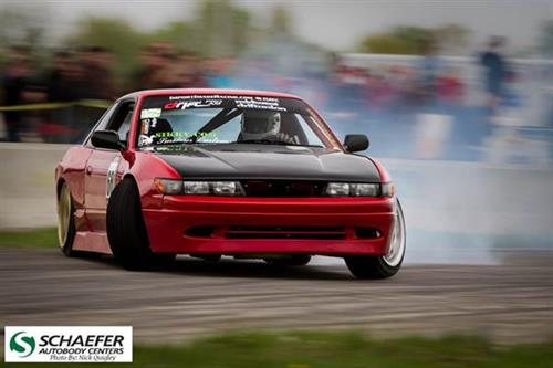 The DriftSTL Team sponsored by Schaefer Autobody Centers