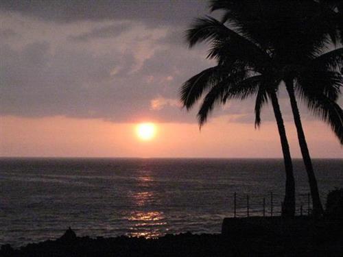 Big Island of Hawaii, Sunset, Outrigger Kanaloa