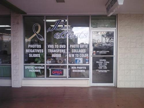 We are located on the North West corner of 49th St and Park Blvd.  Look for the window between the Dollar General and the Nail Salon.