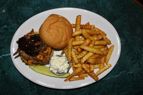 Black Angus Smokehouse Burger