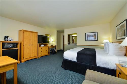 Suite with One King Bed and Sofabed