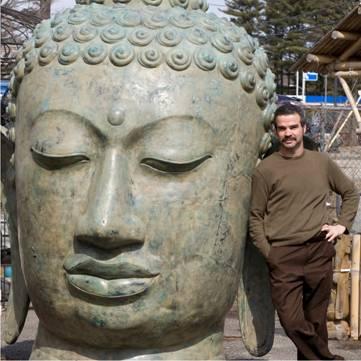 Largest cast buddha head in America