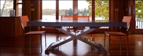 Lake House in CT, Dining Room.