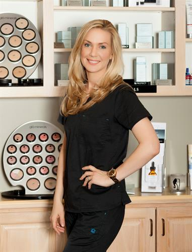 Emily Russ, Aesthetician and Business Manager