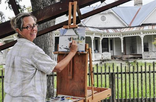 2014 Outdoor Plein Air painting event