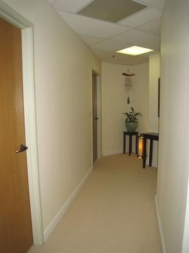 Hallway to Practitioner Rooms