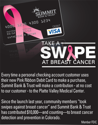 Take A Swipe @ Breast Cancer
