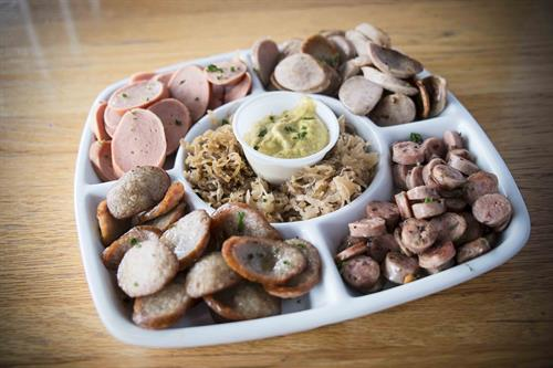 German Sausage Sampler