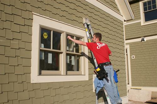 Enjoy clean windows on your next new construction project!
