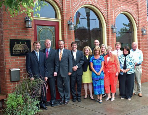 The team on hand for the office's official first day of operation included Kurt Tunnell, Chris Slagle, Flite Freimann, Matt Warnock, Jill Rako, Carla Starcher, Ryan Smith, Carole Chidester, Debbie Gantt, Dan Gerken, Donna Gilles and Phil Oder.