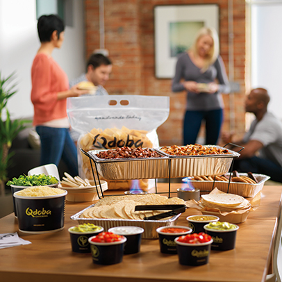 Qdoba Caters! Contact us today for your next event!
