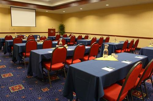 4000 square feet of flexible meeting space and on-site catering