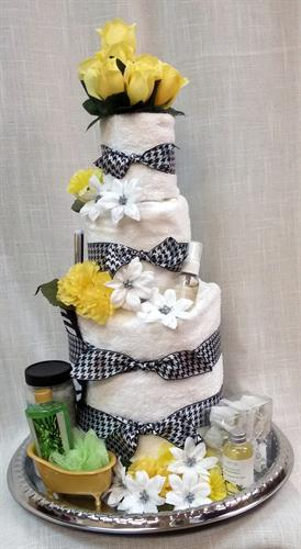 Towel Cake Gift