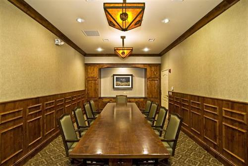 Get the job done in our Executive Boardroom.