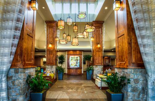 Welcome to Hilton Garden Inn Boise/Eagle, where your arrival is met with a breath of fresh air.