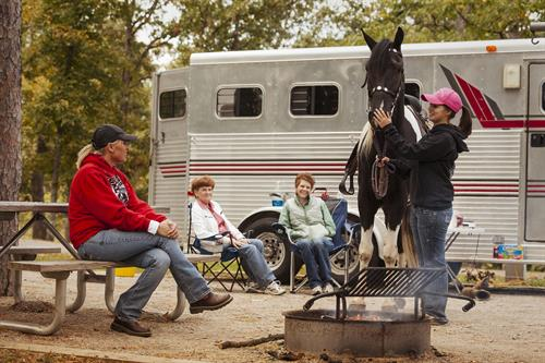 Equesterian Camping