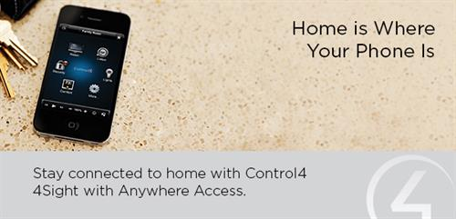 We can monitor you home from anywhere you go.