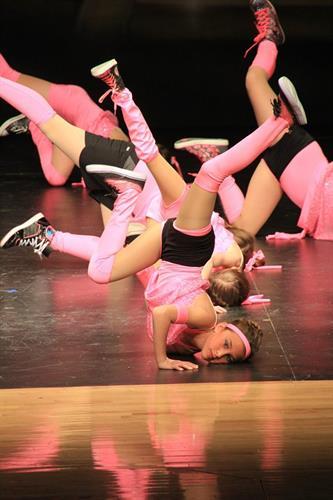 Dancers in action!