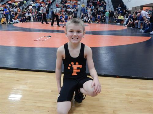 One of our many strong wrestlers.