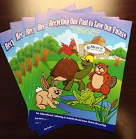 Scrappy the Turtle's educational coloring books.